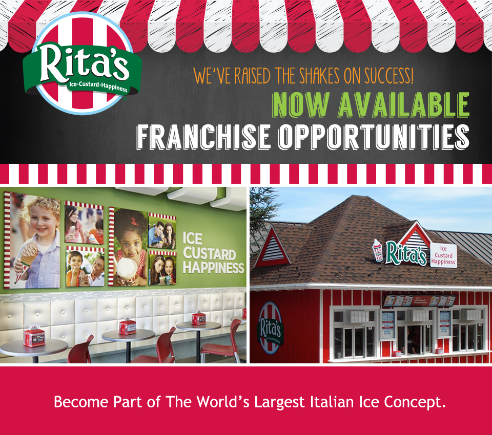Rita's Italian Ice Franchise Email Marketing